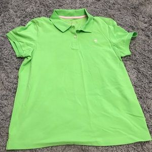 Lilly Pulitzer Pique Polo T-Shirt, L